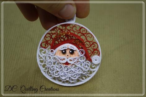 Decorazioni natalizie fatte a mano palline di natale in - Palline di natale fatte in casa ...