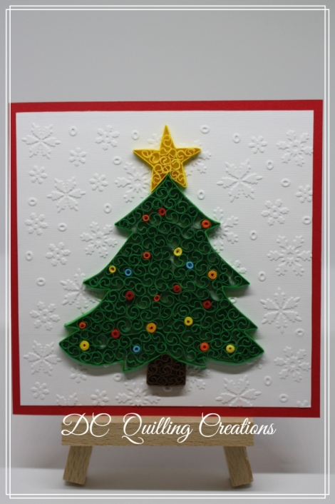Decorazioni Natalizie Quilling.Albero Di Natale Quilling Free Downloads