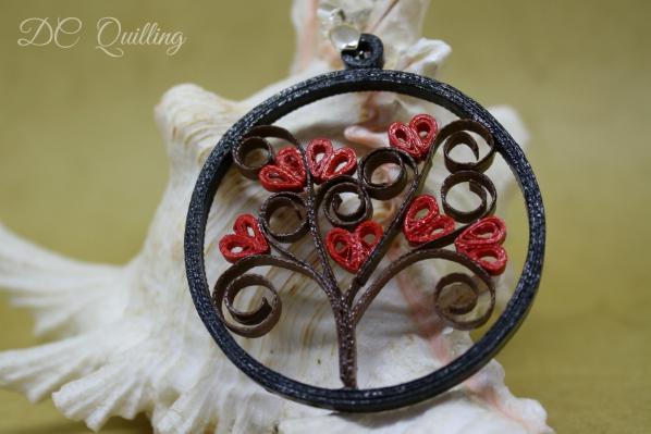 gioielli quilling albero della vita