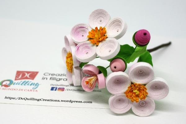 accessori per matrimonio rametto fiori di melo