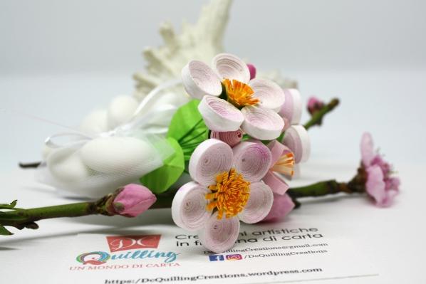 fiori di carta per bomboniere