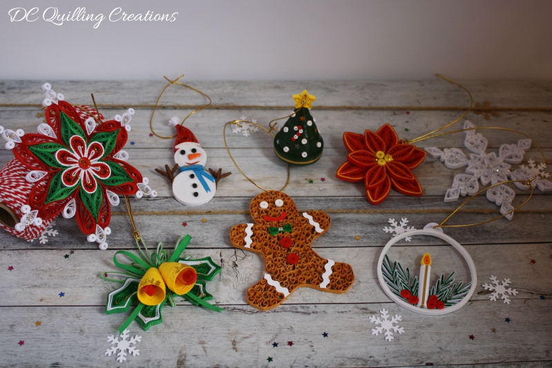 decorazioni natalizie fai da te con al carta