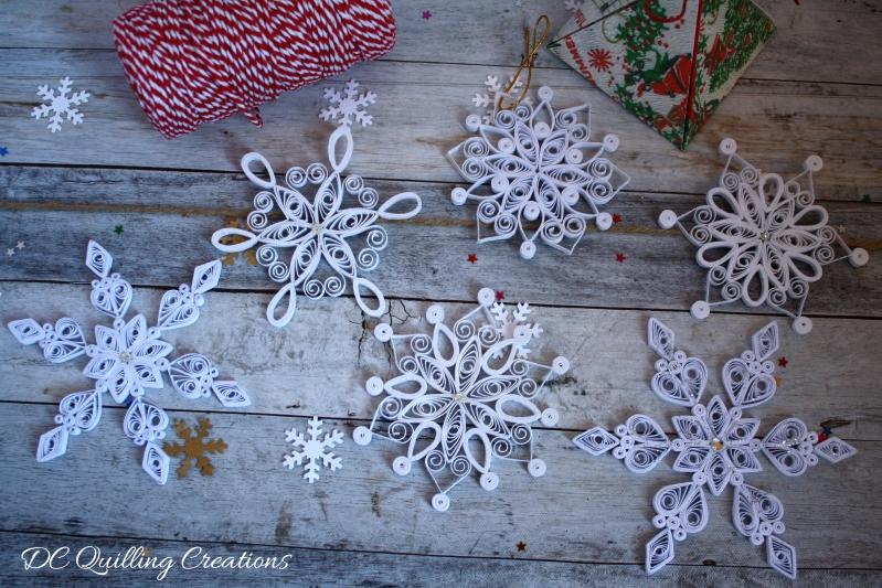 addobbi natalizi fai da te fiocchi di neve