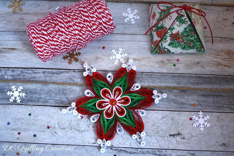 addobbo natalizio fatto a mano